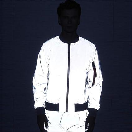 Chaqueta de abrigo reflectante Chaqueta reflectante de vuelo ...