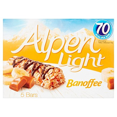 Alpen Light banoffee Bares 5 x 19g