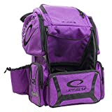 Latitude 64 DG Luxury E3 Backpack Disc Golf Bag Purple/Black