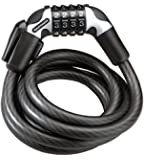 Kryptonite KryptoFlex 1565 Combo Cable Lock withFlexFrame Bracket