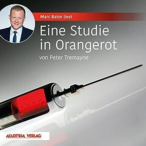 Eine Studie in Orangerot Hörbuch