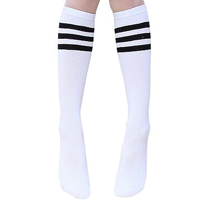 CAOLATOR Calcetines Algodón Calcetín Para Baile Yoga Fútbol Animadoras Movimiento Transpirable Moda Color Calcetines de Mujer