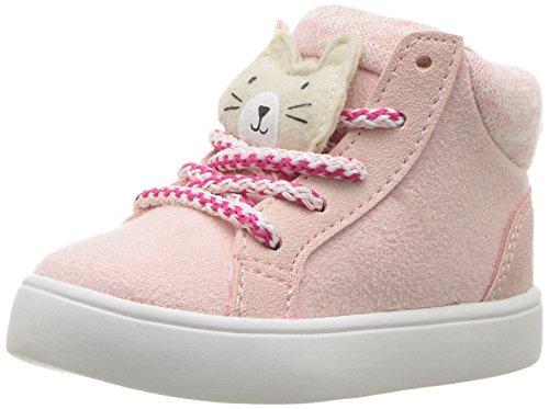 carters Kids Sydney3 Girls Novelty High-Top Casual Sneaker
