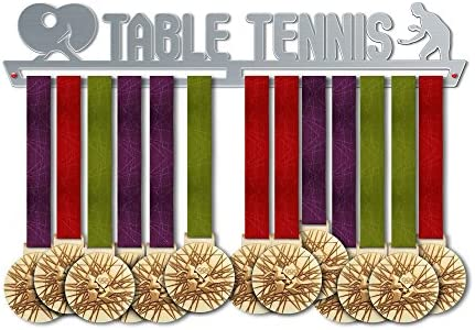 Tennis Medal Hanger Display by VictoryHangers Stainless Steel Medal Display The Best Gift for Champions ! Sports Medal Hangers