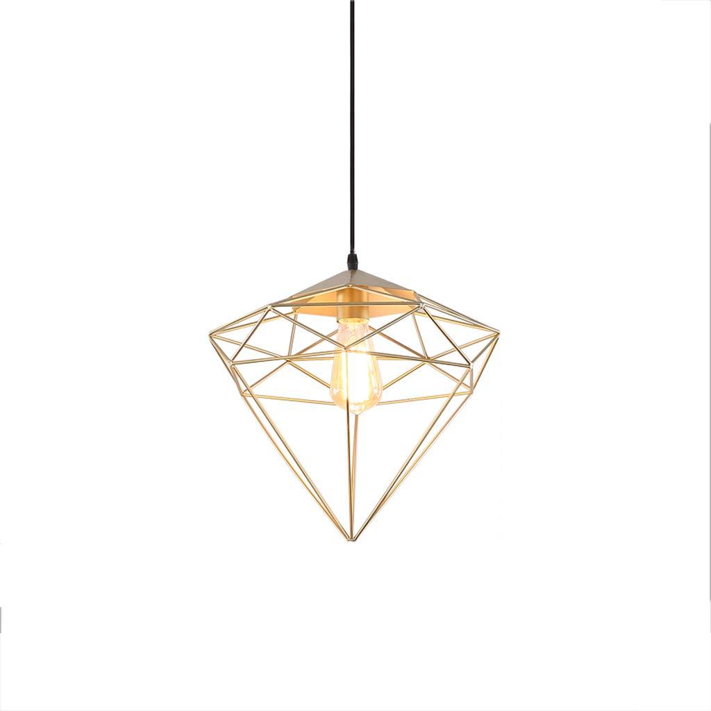 Nordic Industrial Style Wrought Iron Single Head Chandelier, Bar Table Lamp Shop Lamp Chandelier Retro Decorative Chandelier