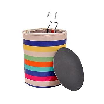Multicolor cesta delantera para bicicleta, portátil plegable de ...