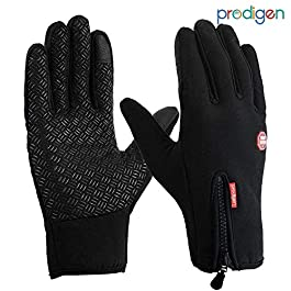 Prodigen Outdoor Winter Gloves Touchscreen Running Warm Gloves