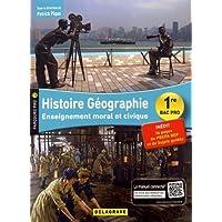 Histoire Géographie, EMC (enseignement moral et civique) 1re Bac Pro (2018) - Pochette élève