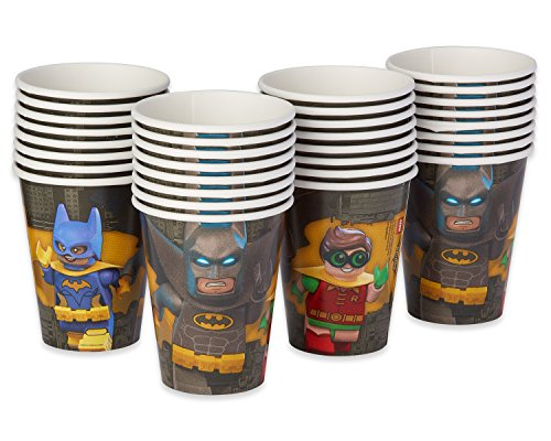 American Greetings Lego Batman 9-Oz. Paper Cups, 32 Count 9, 9oz Paper Cups