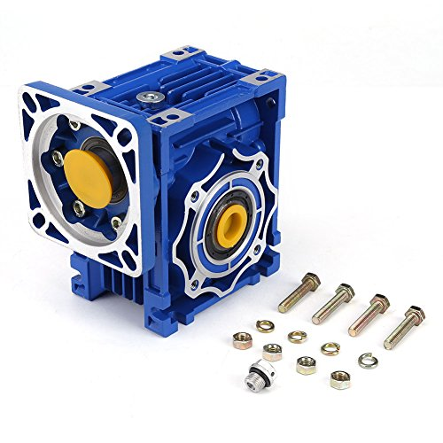 (NMRV40 1400 RPM (RPM) Worm Gear Reducer,Speed Reducer - with Larger Transmission Ratio, Large Torque, High Load Capacity )