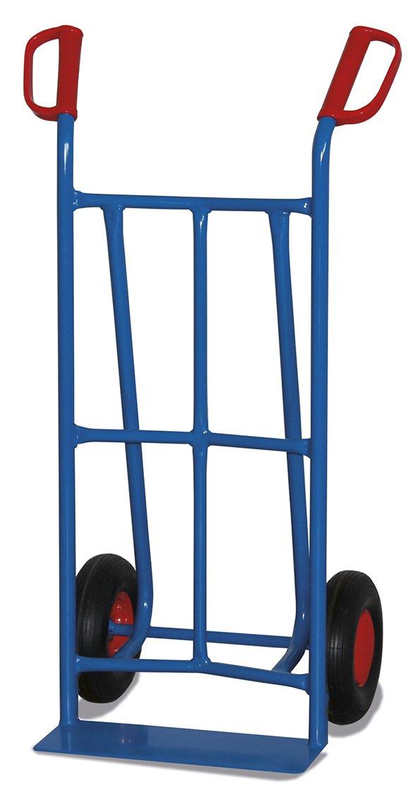 Stahlrohrkarre Vollgummibereifung (Schaufel 450 x 120 mm)