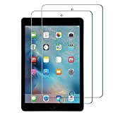 iPad Mini 4 Screen Protector, Easy install HD Clear Scratch Proof Shatterproof Bubble Free Film 0.3mm Ultra Slim Tempered Glass Screen Protector for Apple iPad Mini 4 (2 pack)