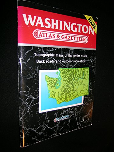 washington-atlas-and-gazetteer-atlas-gazetteer-ser