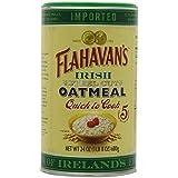 Flahavan's Irish Steel Cut Oatmeal Quick to Cook, 24 Ounce (Pack of 6)