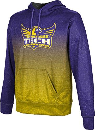 ProSphere Tennessee Technological University Men's Pullover Hoodie, School Spirit Sweatshirt (Ombre) - Technological Tennessee University