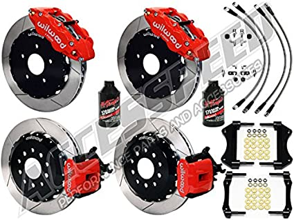 "WILWOOD FORD FOCUS ST 13"" FRONT & REAR BIG BRAKE COMBO W/FREE BRAKE"