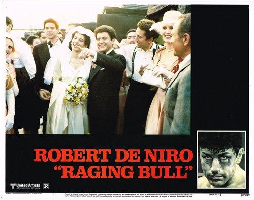 RAGING BULL ORIGINAL LOBBY CARD ROBERT DE NIRO JOE PESCI WEDDING SCENE (Best Joe Pesci Scenes)