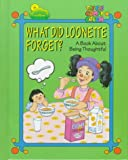 img - for What Did Loonette Forget: A Book About Thoughtfulness (The Big Comfy Couch) book / textbook / text book