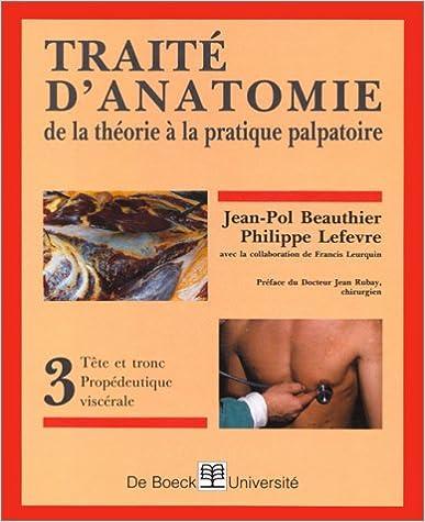 Lire un Traité d'anatomie pdf ebook