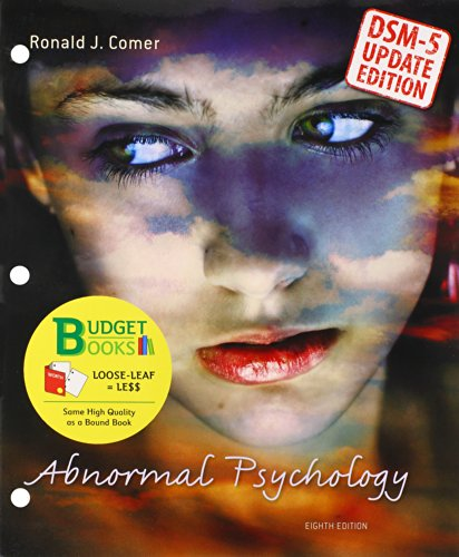 Abnormal Psychology (Loose Leaf) with Diagnostic Statistical Manual Update
