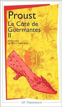 Book's Cover ofA la recherche du temps perdu tome 3 2ème partie : Le Côté de Guermantes II