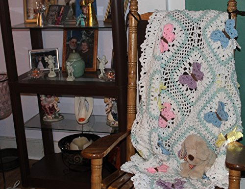 Butterfly Afghan by Creations by Norma