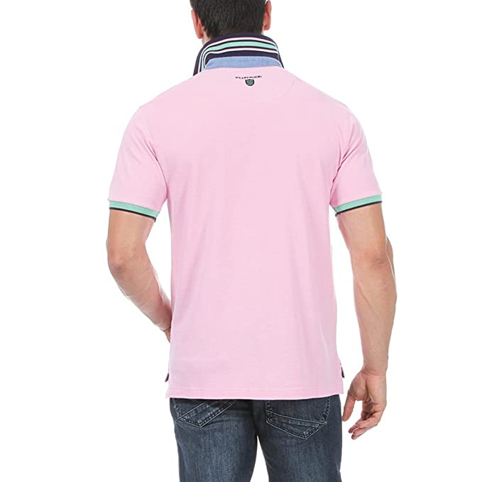 Ruckfield Polo Piqué Monogramme - Rose - XX-Large KdGBl