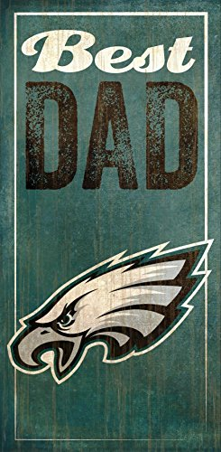 (Fan Creations Philadelphia Eagles Best Dad Sign, Multicolored)