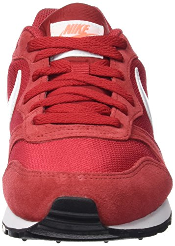 Nike Wmns Md Runner 2, Zapatillas de Deporte para Mujer Rojo (Gym Red / White-Bright Mango)