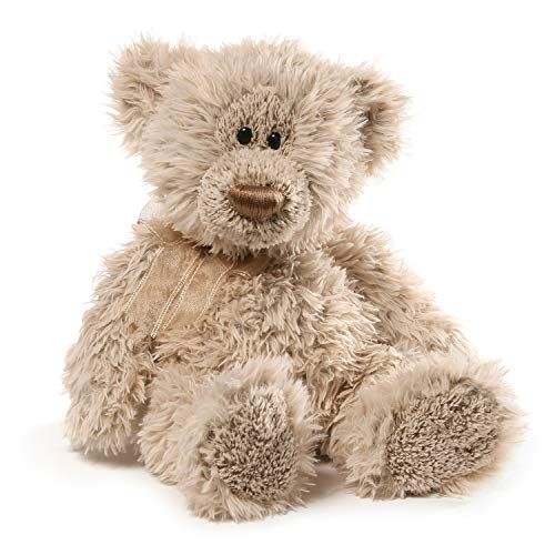GUND 4054148 Sawyer Classic Teddy Bear Light Brown- Adorable Plush Stuffed Animal - Cute and Cuddly Toy for Boy or Girl, Girlfriend Or Grandparent, Beige/Light Brown, 15