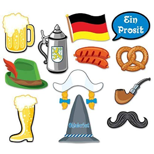 Oktoberfest Danglers - hersrfv home Oktoberfest Photo Booth Fun Props 12 per Pack Size: 6.5