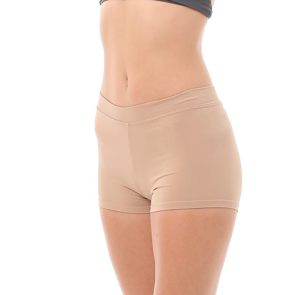 Body Wrappers Angelo Luzio Adult Womens Prowear Boy Cut Shorts