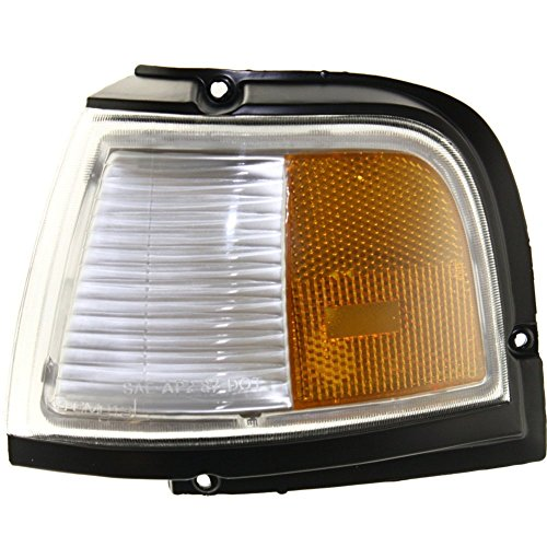 Corner Light for Oldsmobile Cutlass Ciera 88-96 Corner Lamp LH Lens and Housing Side Marker Left Side