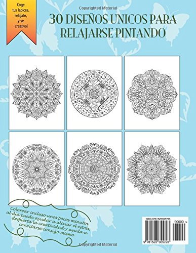 Amazon.com: Mandalas Fantasticos: Libro Para Colorear Para Adultos ...