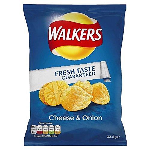 Walkers Crisps (32.5gx32) (Cheese & Onion)