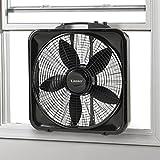 Lasko B20570 Box Fan w Thermostat Cooling B20570