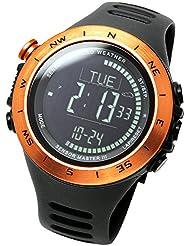 [LAD WEATHER] Swiss sensor Altimeter Barometer Digital Compass Weather Forecast Thermometer Step data Multifunctional...