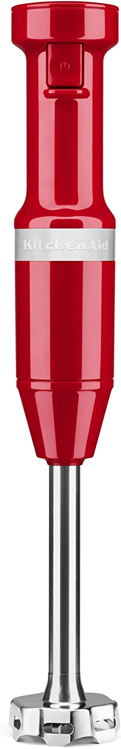 KitchenAid KHBV53PA Variable Speed Corded Hand Blender, Passion Red