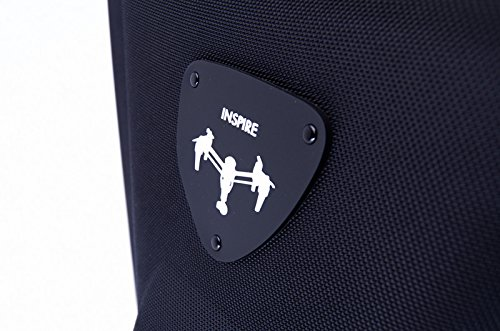 Bestem Aerial DJI Inspire 1 Black Waterproof 1680D EVA Shell Unique Hardshell InsPak Backpack Carrying Case with Gimbal Lock for DJI Inspire 1 (X3 only) by Bestem Aerial (Image #9)