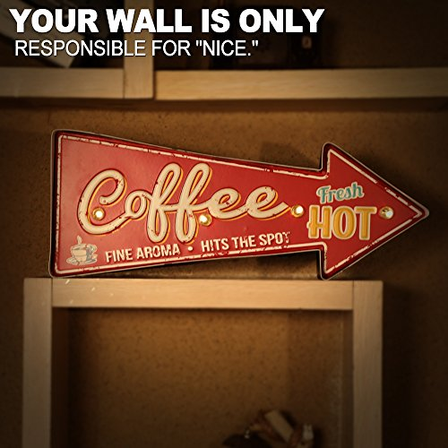 Buy coffee signs for kitchen
