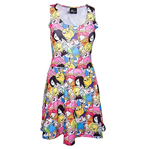 Dress Multicolores Jake Et Officielle Féminin Temps Finn Aventure Amis 8ag65wqHx