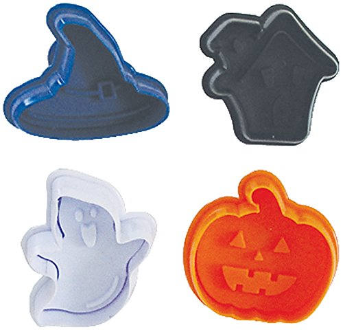 R & M International 494 Pastry/Cookie/Fondant Stamper, 3-Inch, Halloween Theme (Cute And Easy Halloween Cookies)
