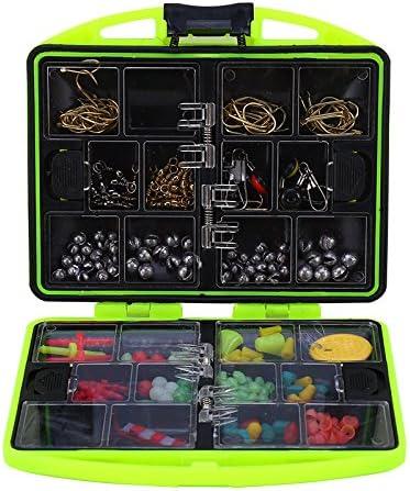 Alomejor Caja de Accesorios de Pesca, 24 Compartimentos, Kit de ...