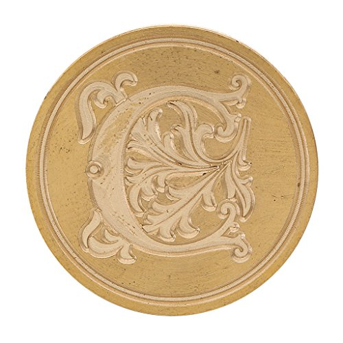 od Classic 26 letter A-Z Alphabet Initial Sealing Wax Seal Stamp Post Decorative Clear Stamp - C, as described (Decorative Sealing Wax)
