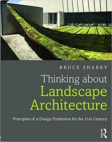 Amazon Com Thinking About Landscape Architecture Principles Of A