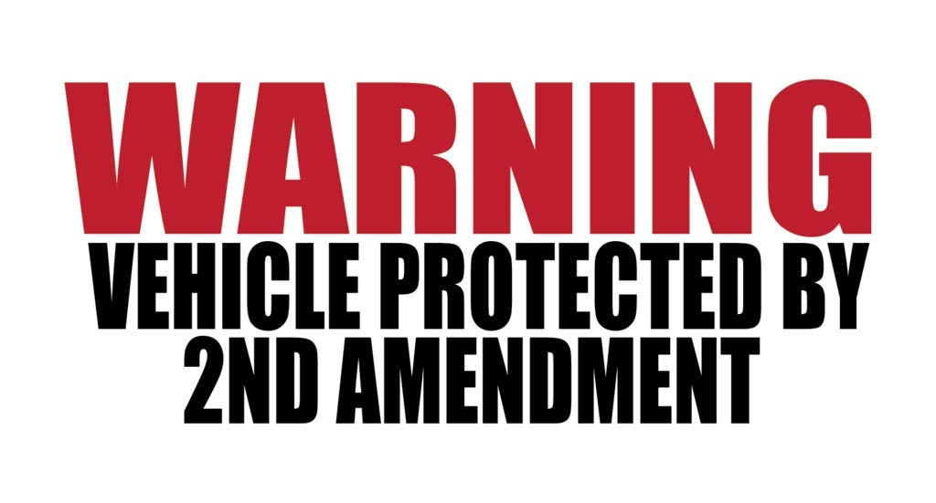 More Shiz 2nd Amendment 3-5 Inch Full Color Printed Decals 3 Pack Vehicle /& Property Protected by 2A Vinyl Decal Sticker Car Truck Van SUV Window Wall Cup Laptop MKS0701