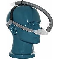 idunmed nasal almohadas máscara con cabeza de 3cojines tamaño (s/m/l) ajustable