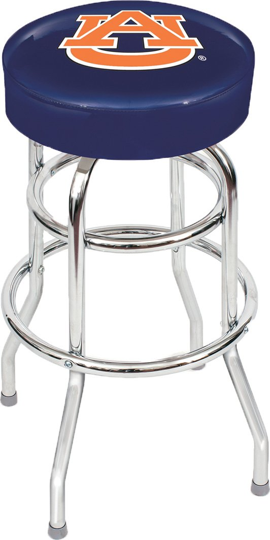 Imperial Officially Licensed NCAA Furniture: Swivel Seat Bar Stool, Auburn Tigers