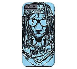 Rock and Roar HTC One M8 Ice Blue Tough Phone Case - Design By Humans