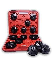 Kit de 15 casquillos cojinetes llaves del coche filtros aceite